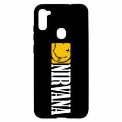 Чехол для Samsung A11/M11 Nirvana смайл