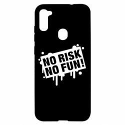 Чохол для Samsung A11/M11 No Risk No Fun