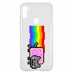 Чохол для Samsung A11/M11 Nyan cat