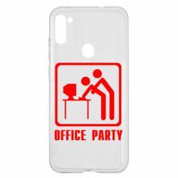 Чехол для Samsung A11/M11 Office Party