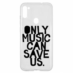 Чехол для Samsung A11/M11 Only music can save us.