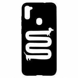 Чохол для Samsung A11/M11 дуууже довга такса