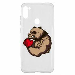 Чехол для Samsung A11/M11 Panda Boxing