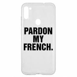 Чехол для Samsung A11/M11 Pardon my french.