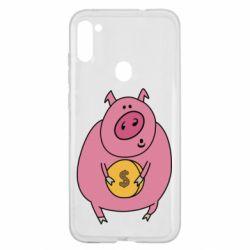 Чохол для Samsung A11/M11 Pig and $