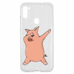 Чохол для Samsung A11/M11 Pig dab