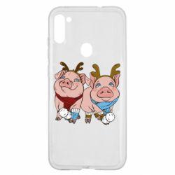 Чохол для Samsung A11/M11 Pigs