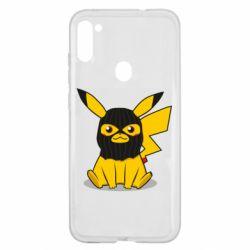 Чехол для Samsung A11/M11 Pikachu in balaclava