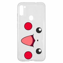 Чехол для Samsung A11/M11 Pikachu Smile