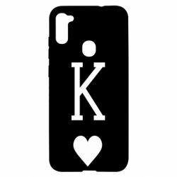Чохол для Samsung A11/M11 Playing Cards King