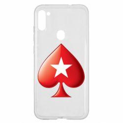 Чохол для Samsung A11/M11 Poker Stars 3D Logo