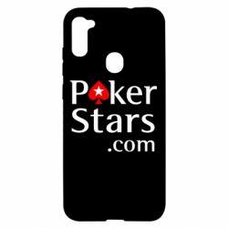 Чехол для Samsung A11/M11 Poker Stars