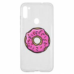 Чехол для Samsung A11/M11 Пончик Гомера