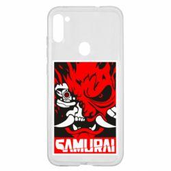 Чохол для Samsung A11/M11 Poster samurai Cyberpunk