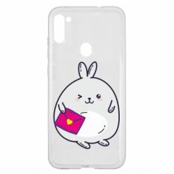 Чохол для Samsung A11/M11 Rabbit with a letter