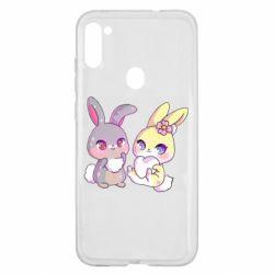 Чохол для Samsung A11/M11 Rabbits In Love