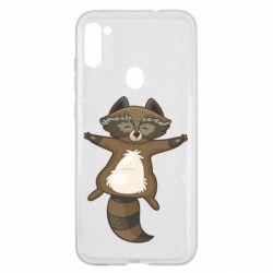 Чохол для Samsung A11/M11 Raccoon