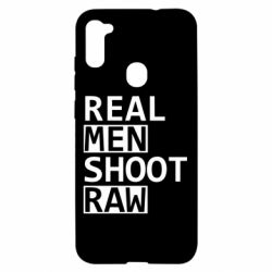 Чохол для Samsung A11/M11 Real Men Shoot RAW