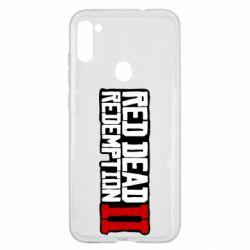 Чохол для Samsung A11/M11 Red Dead Redemption logo