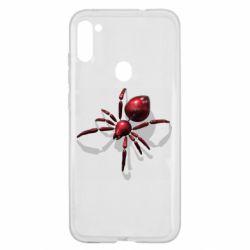 Чохол для Samsung A11/M11 Red spider