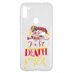 Чехол для Samsung A11/M11 Remember death is not the end