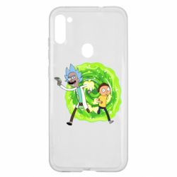 Чохол для Samsung A11/M11 Rick and Morty art