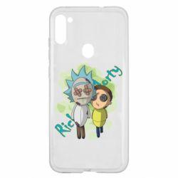 Чохол для Samsung A11/M11 Rick and Morty voodoo doll