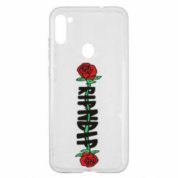 Чехол для Samsung A11/M11 RipnDip rose