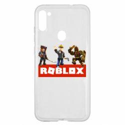 Чехол для Samsung A11/M11 Roblox Heroes