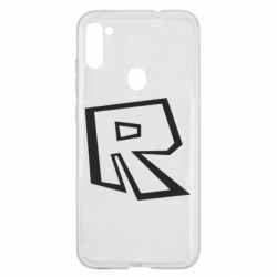 Чохол для Samsung A11/M11 Roblox minimal logo