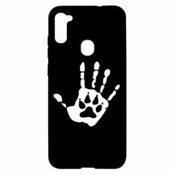 Чохол для Samsung A11/M11 Рука вовка