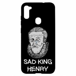 Чехол для Samsung A11/M11 Sad king henry