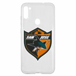 Чохол для Samsung A11/M11 San Jose Sharks