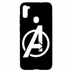 Чохол для Samsung A11/M11 Сaptain Аmerica logo