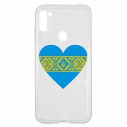 Чехол для Samsung A11/M11 Серце України