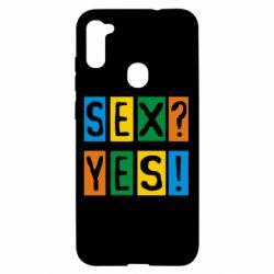Чехол для Samsung A11/M11 Sex?Yes!