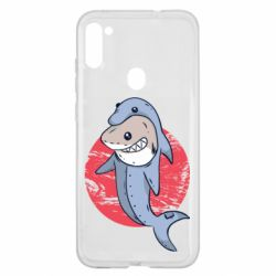 Чехол для Samsung A11/M11 Shark or dolphin