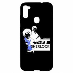 Чехол для Samsung A11/M11 Sherlock (Шерлок Холмс)