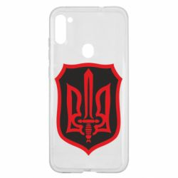 Чехол для Samsung A11/M11 Shield with the emblem of Ukraine and the sword