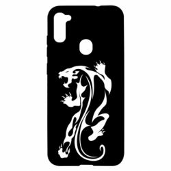 Чехол для Samsung A11/M11 Silhouette of a tiger