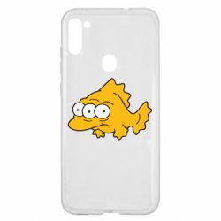Чехол для Samsung A11/M11 Simpsons three eyed fish
