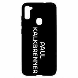 Чехол для Samsung A11/M11 Singer Paul Kalkbrenner