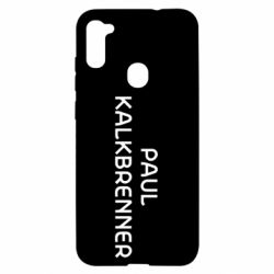Чохол для Samsung A11/M11 Singer Paul Kalkbrenner