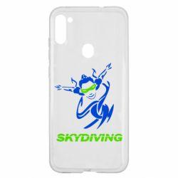 Чохол для Samsung A11/M11 Skidiving