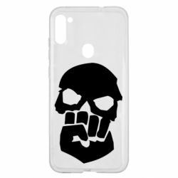 Чехол для Samsung A11/M11 Skull and Fist