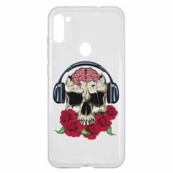 Чохол для Samsung A11/M11 Skull and roses