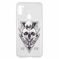 Чохол для Samsung A11/M11 Skull with insect