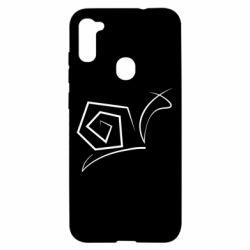 Чехол для Samsung A11/M11 Snail minimalism