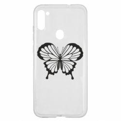 Чехол для Samsung A11/M11 Soft butterfly