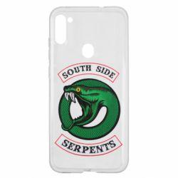 Чехол для Samsung A11/M11 South side serpents stripe